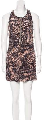 IRO Carson Abstract Print Dress