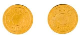Hermes Clou de Selle Clip-On Earrings