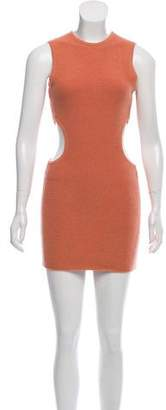 Ronny Kobo Cut-Out Bodycon Dress