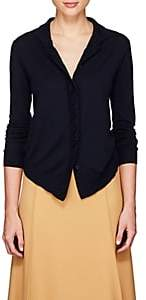 Chloé Women's Fine-Gauge Knit Wool-Blend Cardigan-Navy