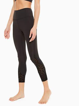 Kate Spade Leopard mesh legging