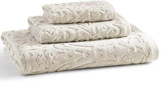 "Kassatex Firenze 100% Cotton Floral Jacquard 30"" x 54"" Bath Towel Bedding"