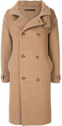 Muller of Yoshio Kubo Muller Of Yoshiokubo double breasted wool coat