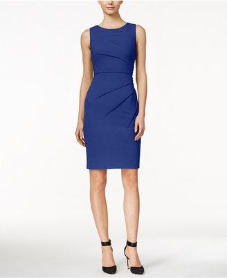 Calvin Klein Sunburst Sheath Dress $89.98 thestylecure.com
