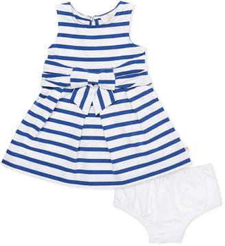 Kate Spade jillian striped sleeveless dress w/ bloomers, size 12-24 months