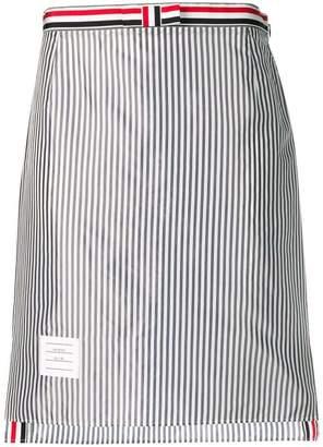 Thom Browne Bemberg Lining Slip Skirt