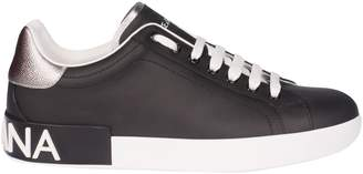 Dolce & Gabbana Round Toe Sneakers