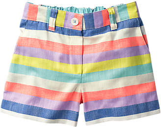 Boden Mini Girls' Stripe Shorts, Multi