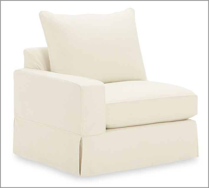 Pottery Barn PB Comfort Square Arm Sectional Component Slipcovers