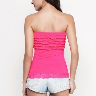 6223c35a38 Pink Label Xenia Strapless Top
