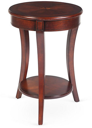 One Kings Lane Collins Side Table - Cherry