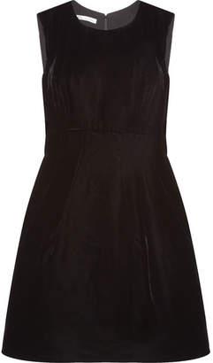 Oscar de la Renta - Velvet Dress - Black