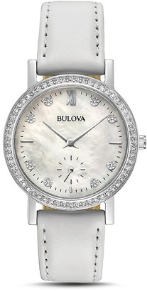 Bulova Crystal Watch, 32mm $250 thestylecure.com