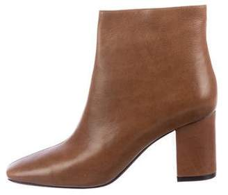 Anine Bing Leather Square-Toe Boots
