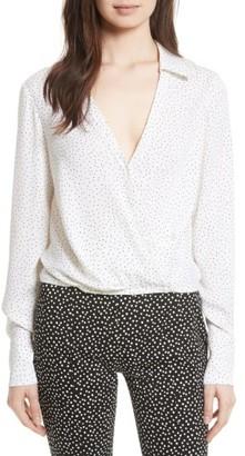 Women's Diane Von Furstenberg Silk Blouse $298 thestylecure.com