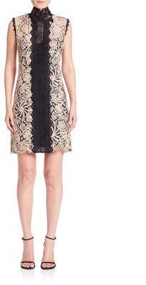 Nanette Lepore Paramour Lace Shift Dress $398 thestylecure.com