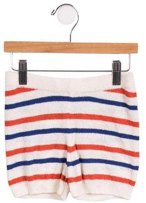 Bobo Choses Boys' Terry Cloth Striped Shorts w/ Tags
