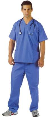UnderWraps Blue Scrubs Adult Halloween Costume