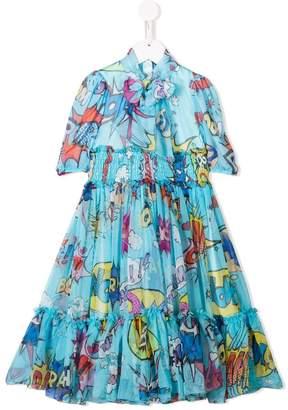 c14ceef2 Dolce & Gabbana Blue Girls' Dresses - ShopStyle