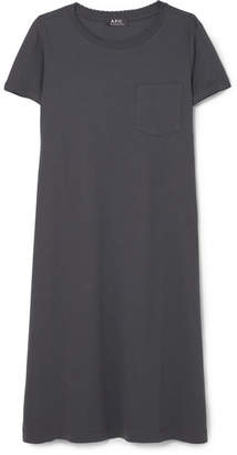 A.P.C. Athens Cotton-jersey Dress - Black