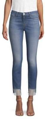 J Brand 811 Organza Step Skinny Jeans