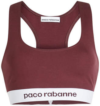 a96bcc7164e Paco Rabanne Cropped Top with Racerback