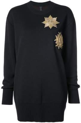 Vera Wang パッチセーター