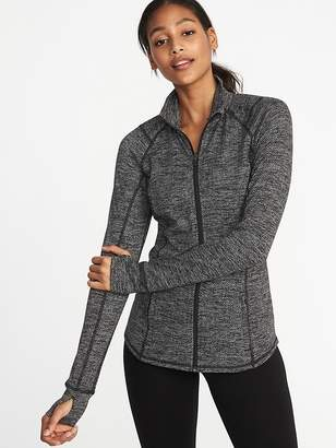 Old Navy Fitted Full-Zip Performance Jacket for Women