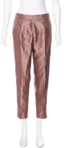 Kate Spade New York Printed Mid-Rise Pants