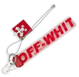 Off-White Rubber Logo Key Chain