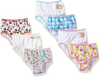 Disney Toddler Girls' Tsum 7 Pack Underwear