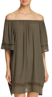 Muche et Muchette City Wide Short-Sleeve Dress Swim Cover-Up