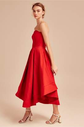 C/Meo Collective MAKING WAVES DRESS red