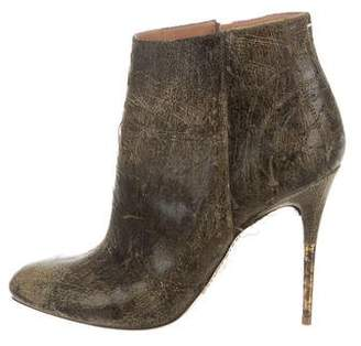 Maison Margiela Distressed Ankle Boots