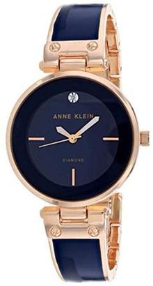 Anne Klein Classic Crystal Bangle Ladies Watch AK-2898NVRG