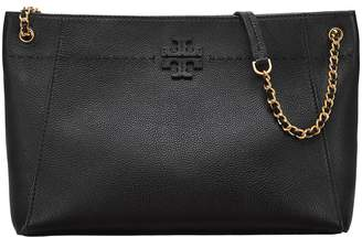 Tory Burch McGraw Chain-Shoulder Slouchy Tote Tote Handbags