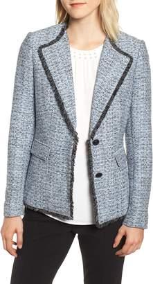 Karl Lagerfeld PARIS Wing Collar Jacket