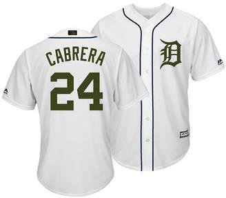 Majestic Men Miguel Cabrera Detroit Tigers Usmc Cool Base Jersey