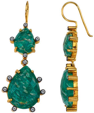 Alanna Bess Jewelry Double Florentine Earrings