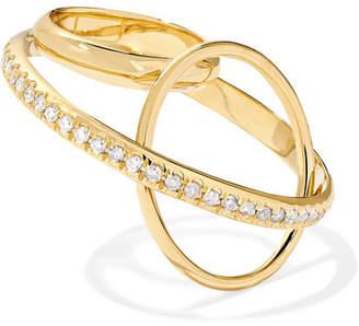 Gaelle Khouri Dianoia 18-karat Gold Diamond Ring