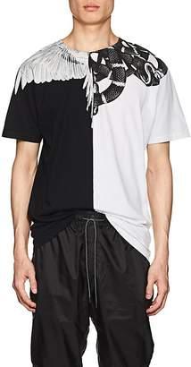 Marcelo Burlon County of Milan Men's Graphic Cotton Jersey T-Shirt