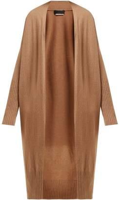 Nili Lotan Makenna Long Cashmere Cardigan - Womens - Camel