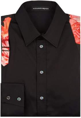 Alexander McQueen Floral Detailed Shirt