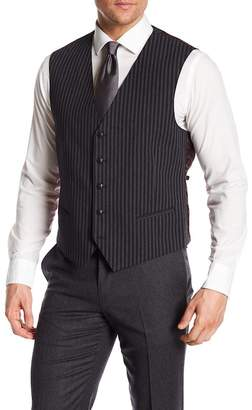 John Varvatos Striped Vest