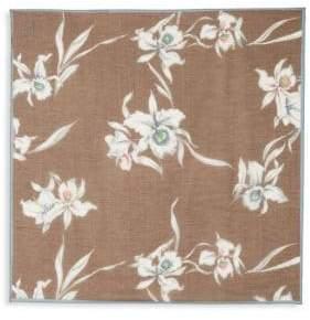 Valentino Floral Cotton & Silk Scarf