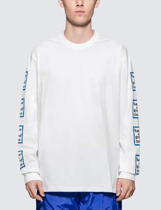Have A Good Time Blue Arm Frame L/S T-Shirt