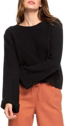 Roxy Sorrento Shades Bell Sleeve Sweater