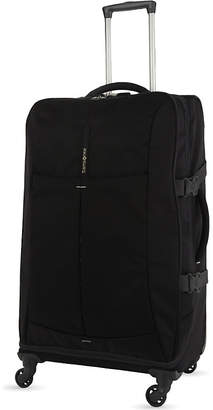 Samsonite 4Mation four-wheel Spinner Duffle 77cm $168 thestylecure.com