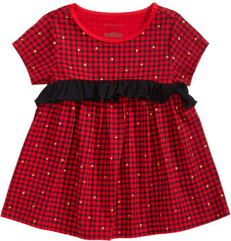 First Impressions Toddler Girls Check Cotton Top