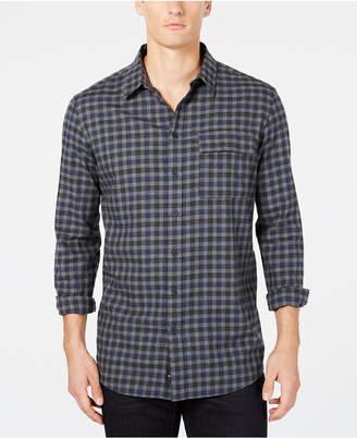 DKNY Men Plaid Shirt